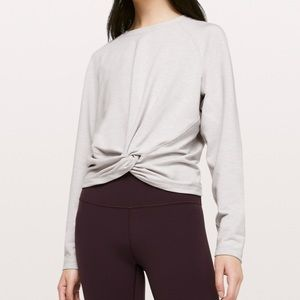 lululemon knotted pullover